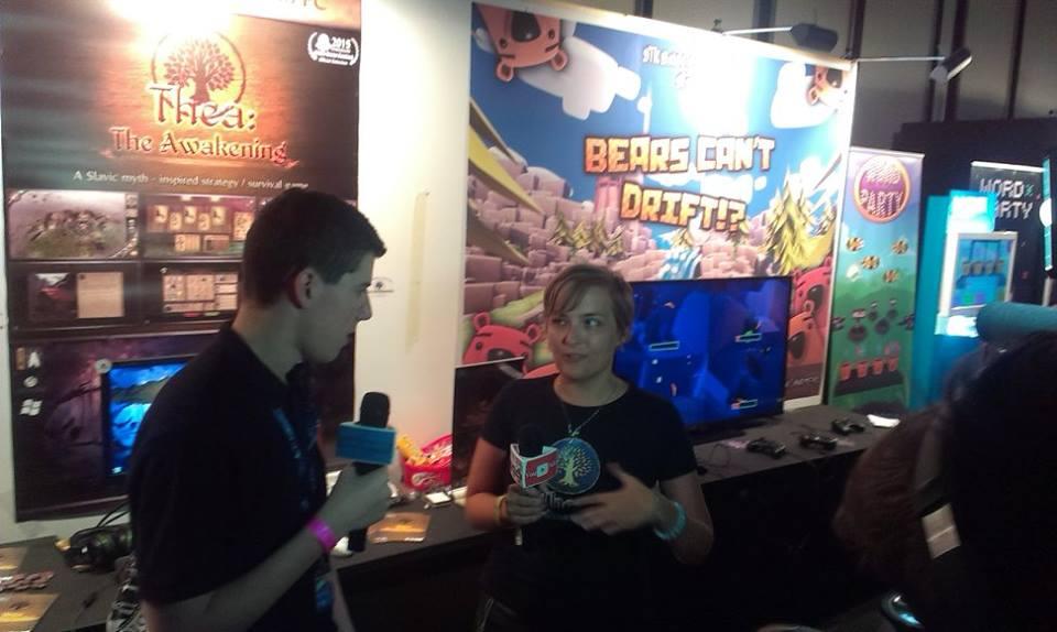 Yuuki having lots of interviews during EGX!
