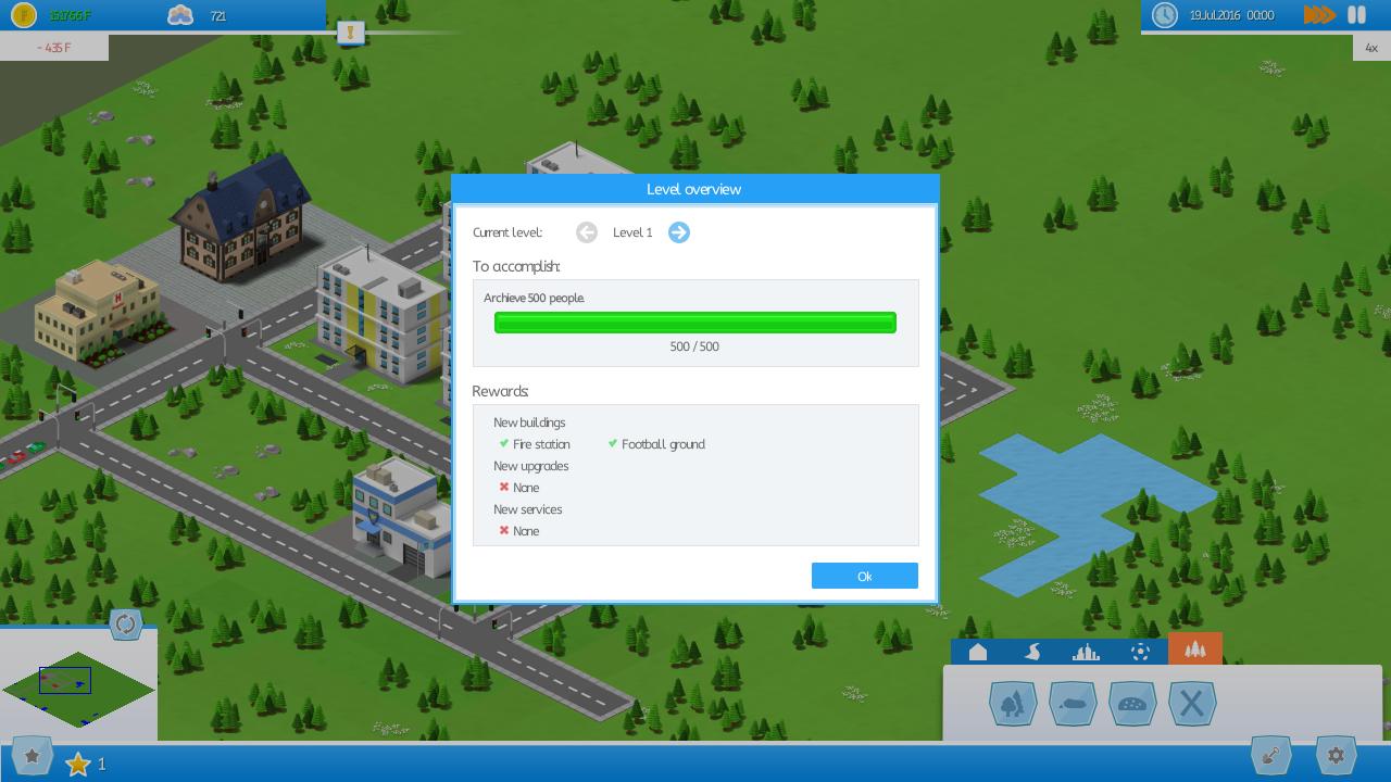 Screenshot Level Manager