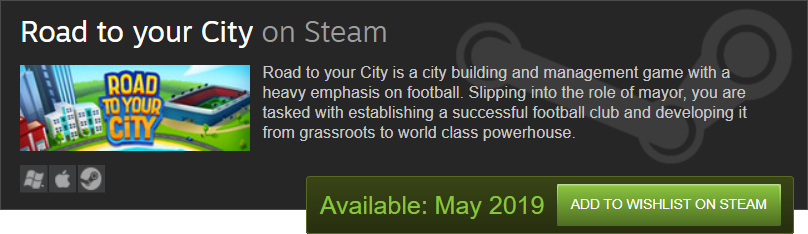 Steam widget