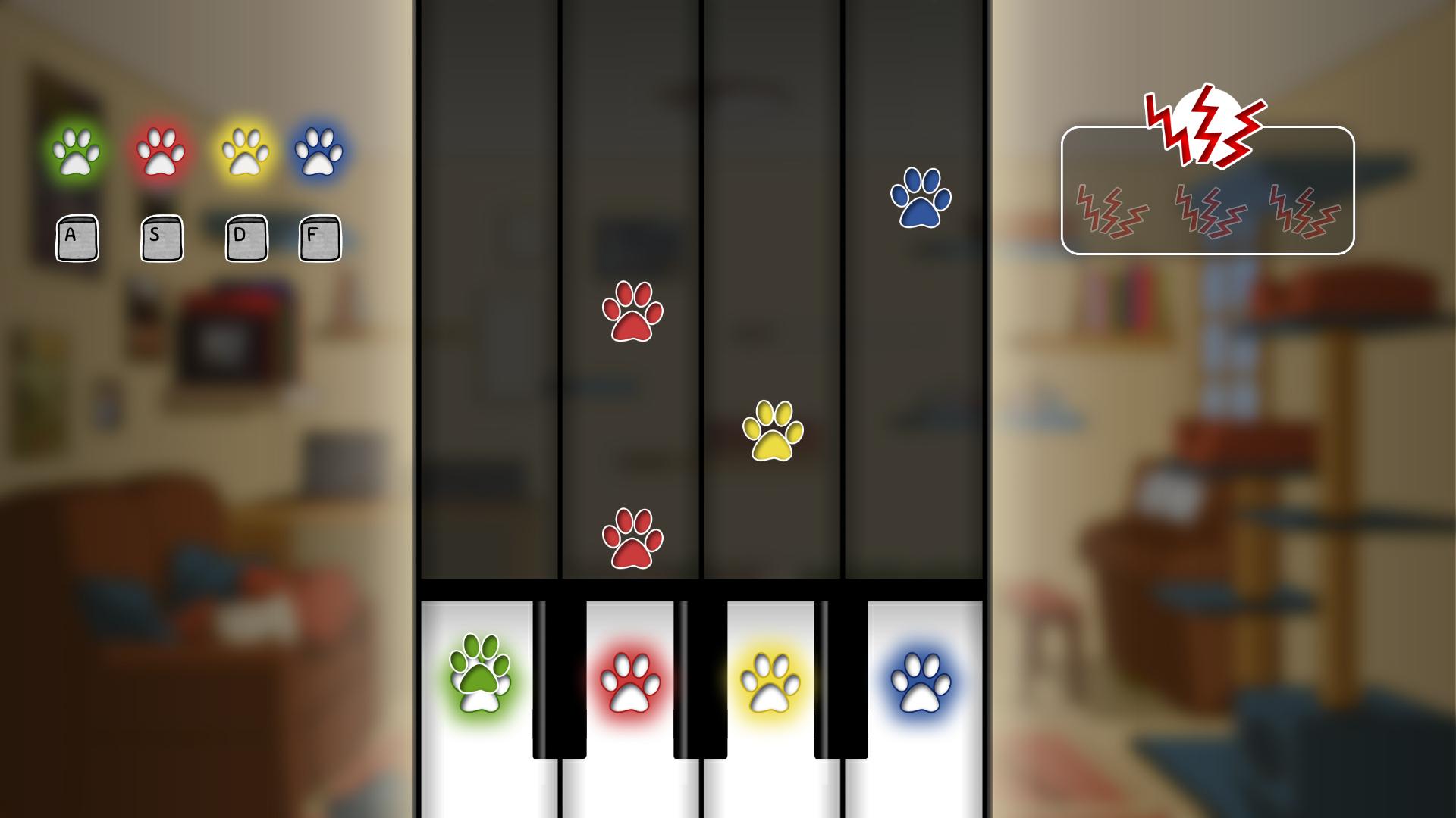 piano mini game
