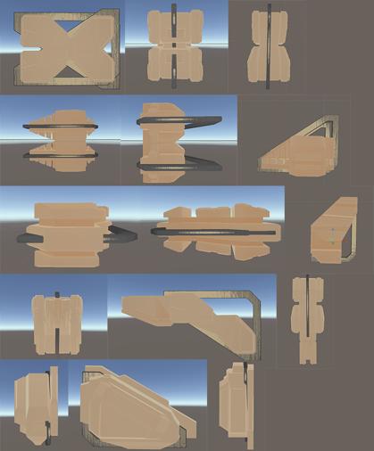 harry potter tower modular piece