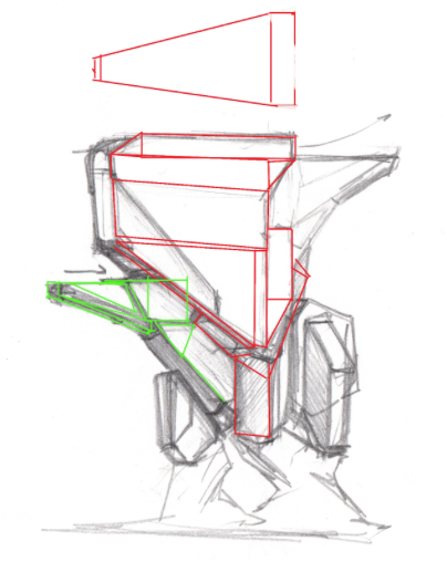 modualr pieces tower innerspace