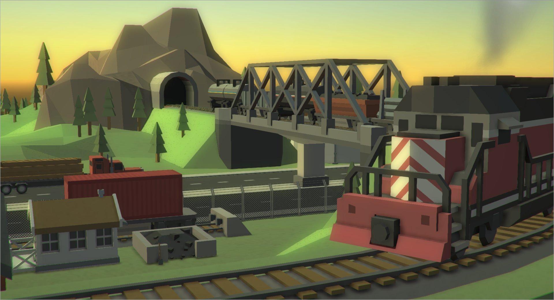 TrainsScenery