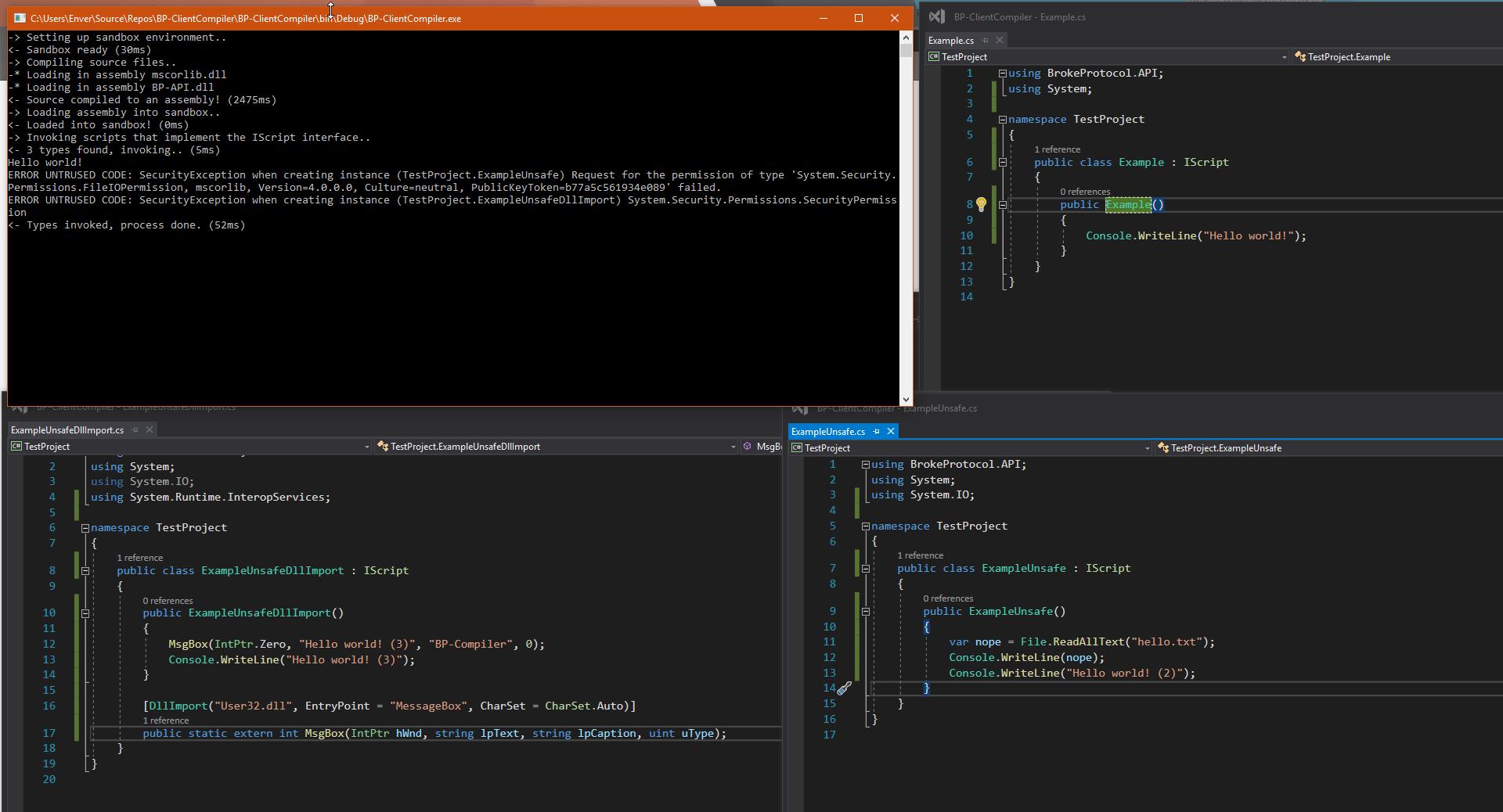 ClientCompiler