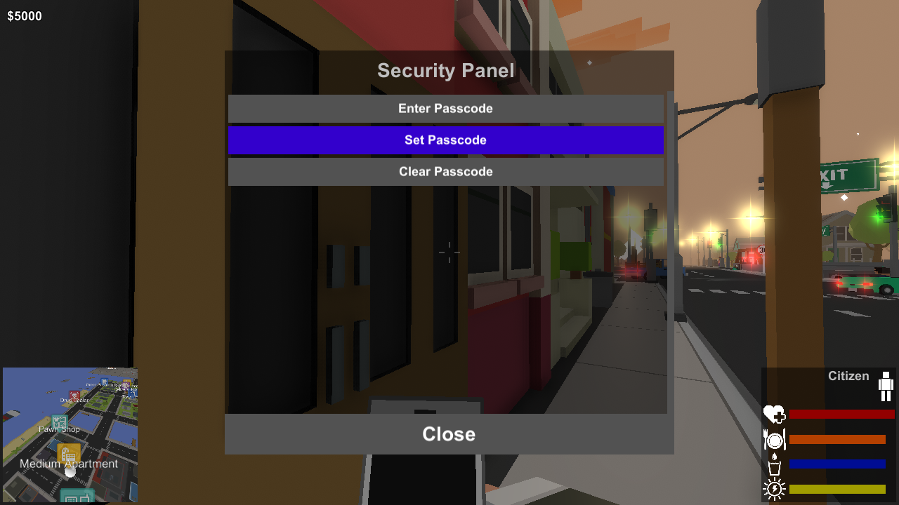 SecurityPanel