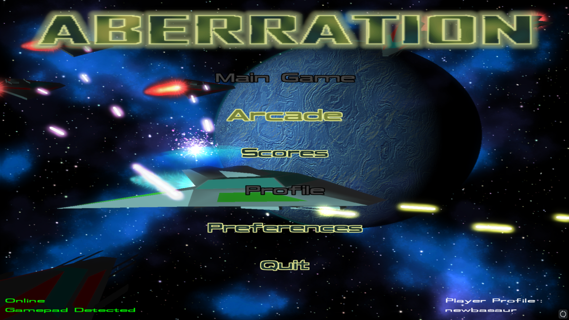 screenshot menu