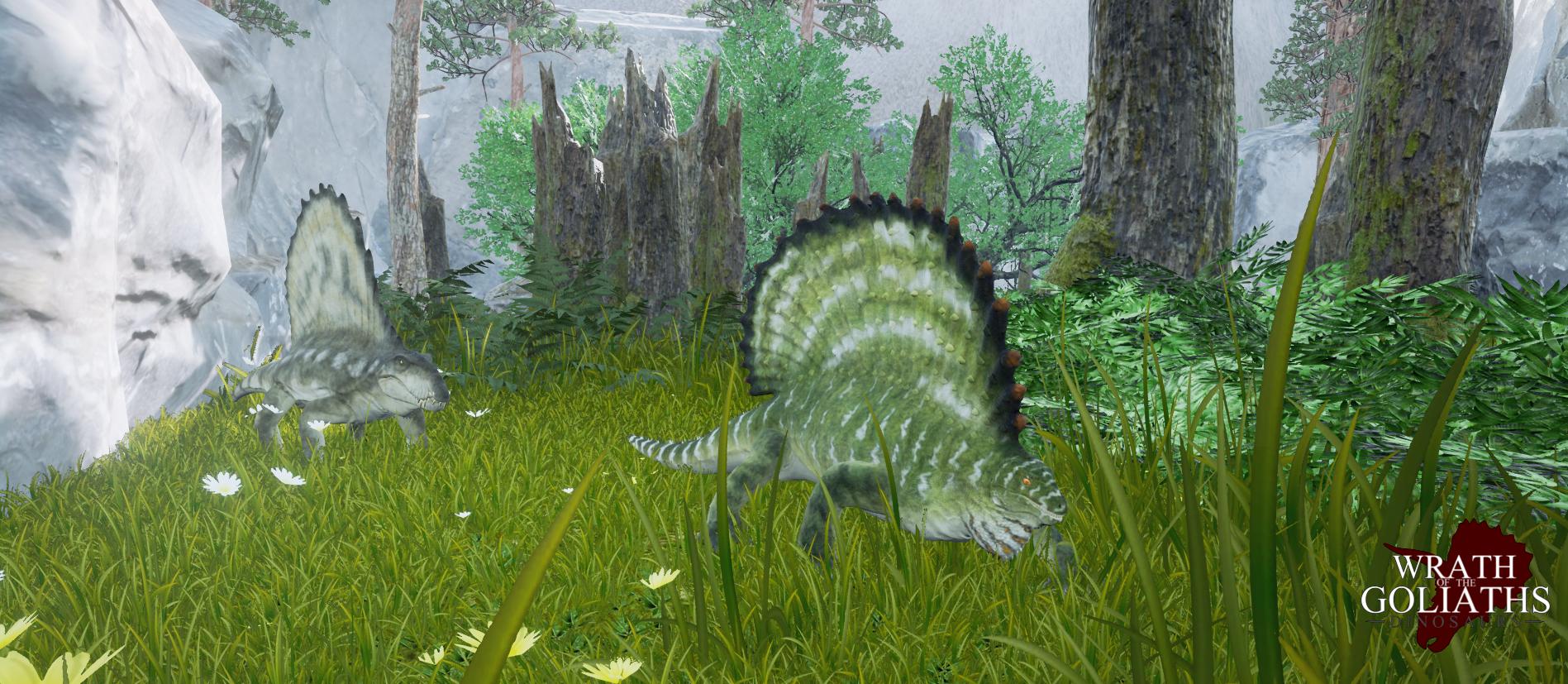 Dimetrodon & Edaphosaurus