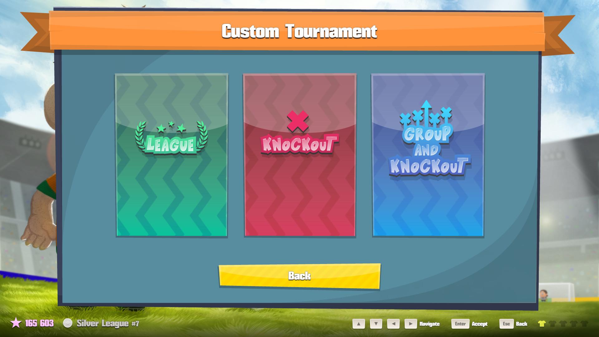 CUstom tournament types