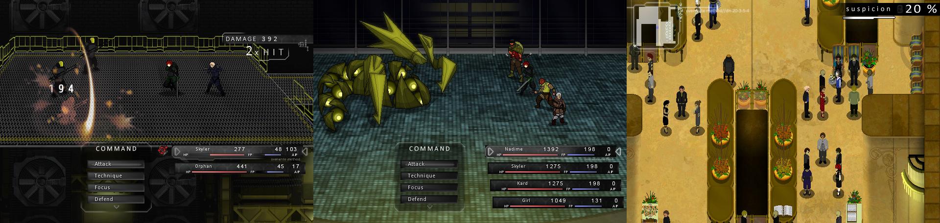 (game screenshots)