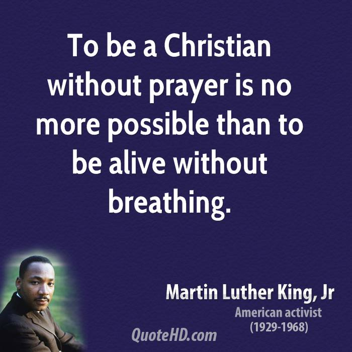 a study on martin luther kings concept of christianity King was a baptist minister malcolm x rejected christianity and became a black muslim in this chapter you will leam more about the martin luther king malcolm x.