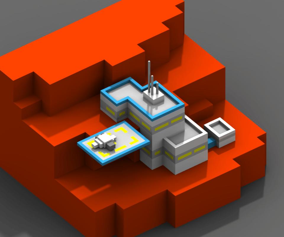 terrain magicavoxel