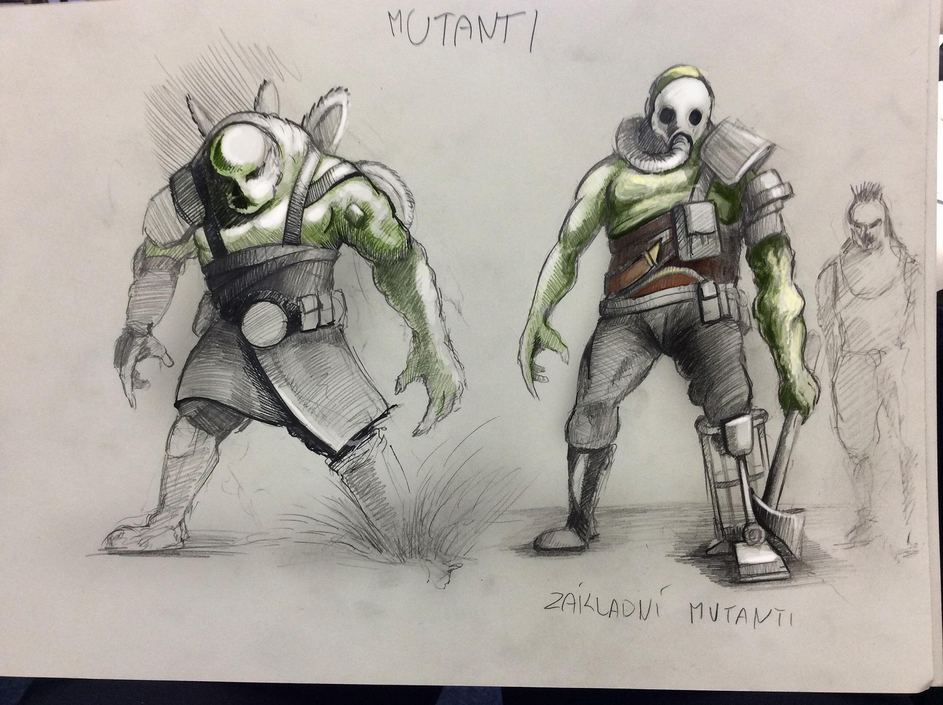 Mutants Green
