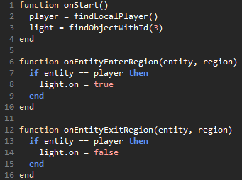 Lua code