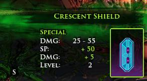 crescent sheild