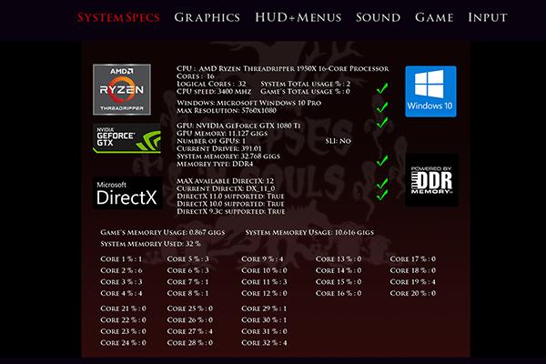 CNS system info sml