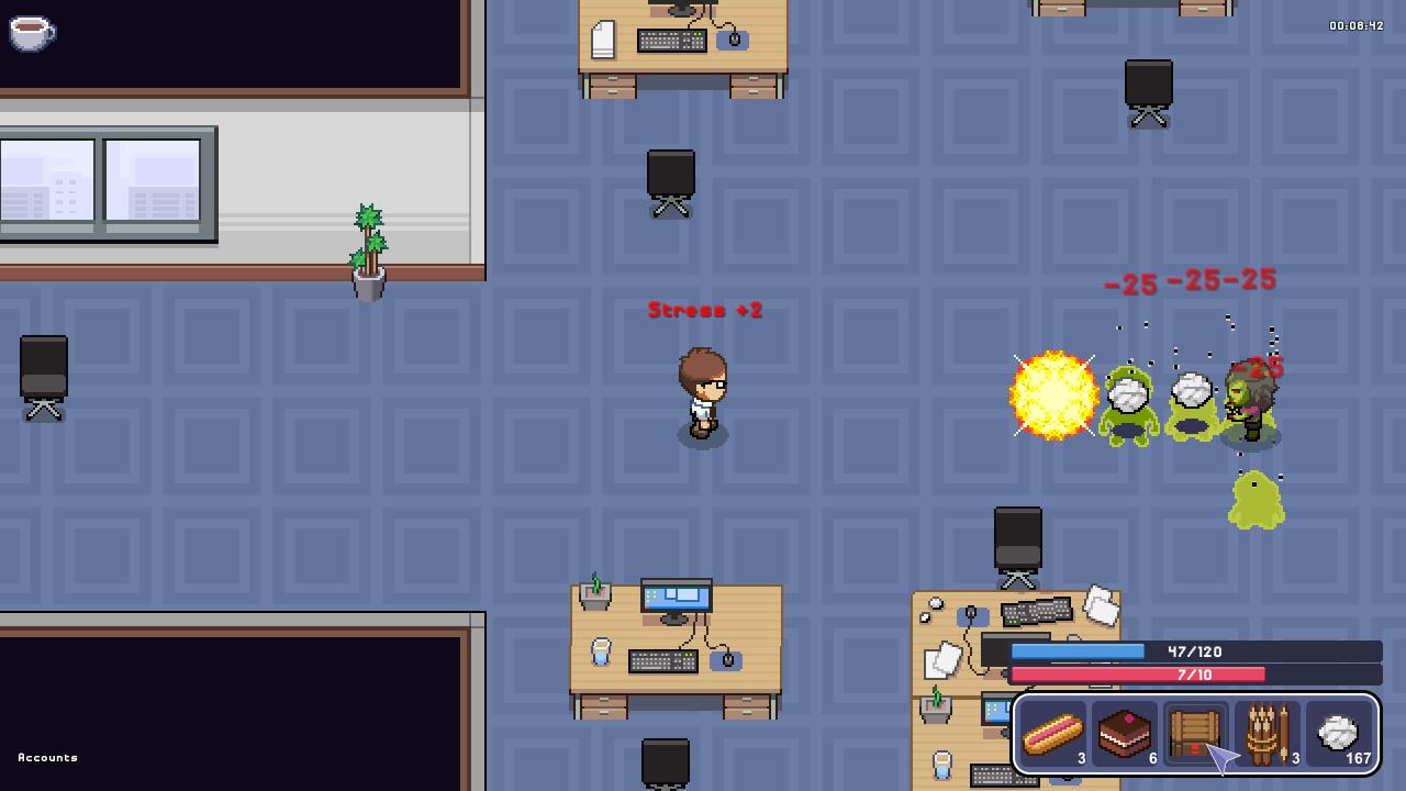 Zombie Office Politics Screen 05