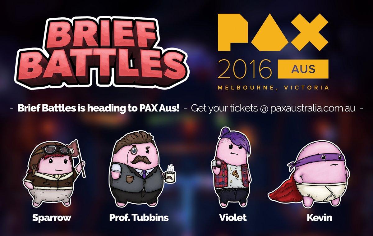 Brief Battles @ PAX Aus