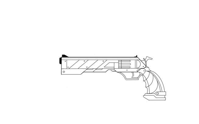 Dark Cyber Pistol