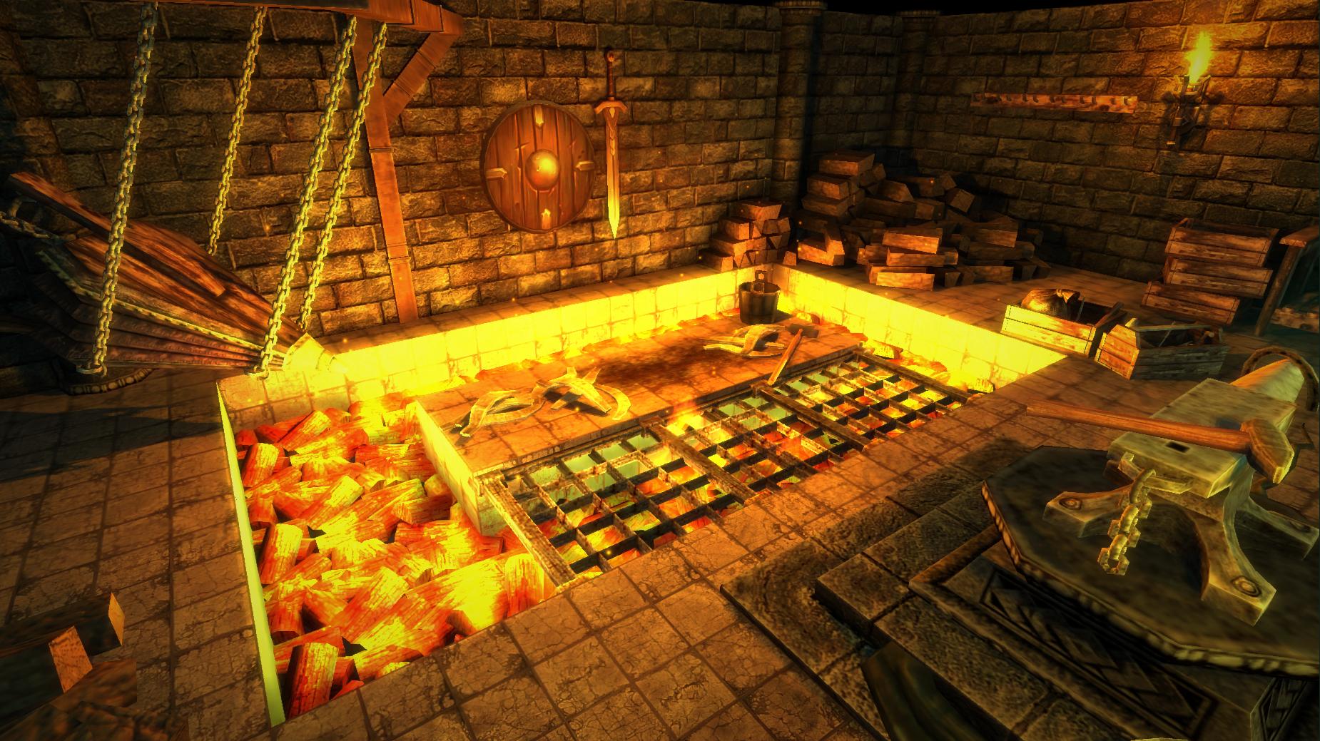 forge game u5 forge floor