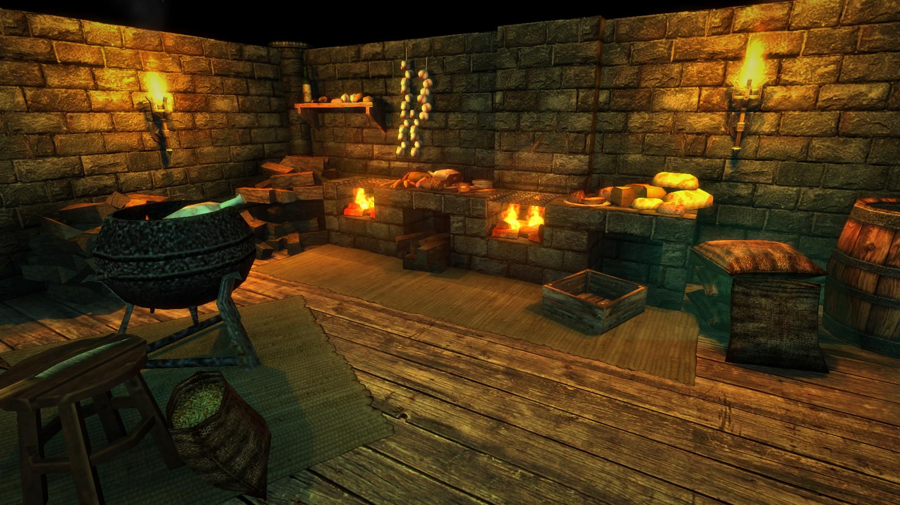 kitchen game ovens