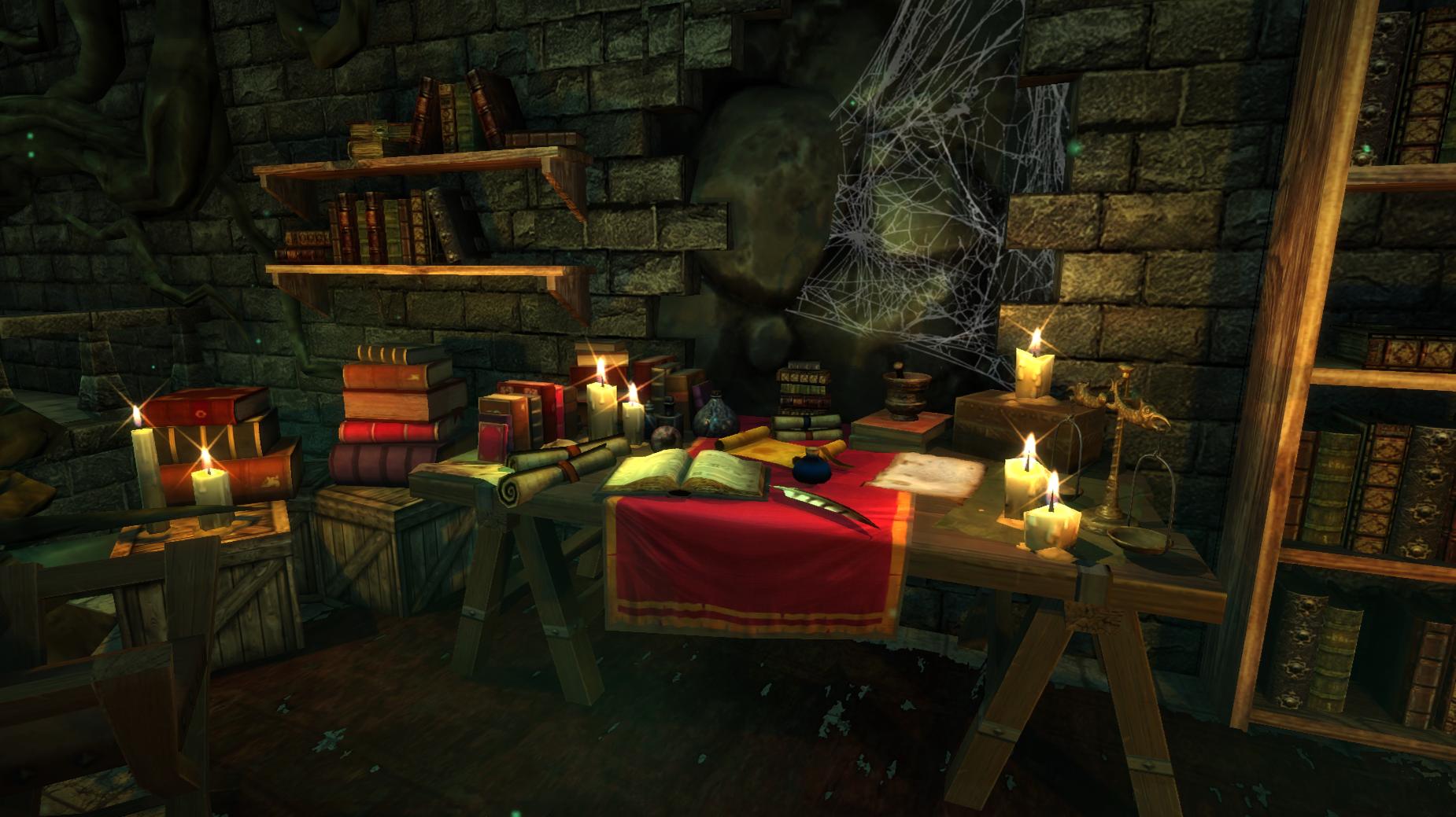 master bedroom  desk closeu