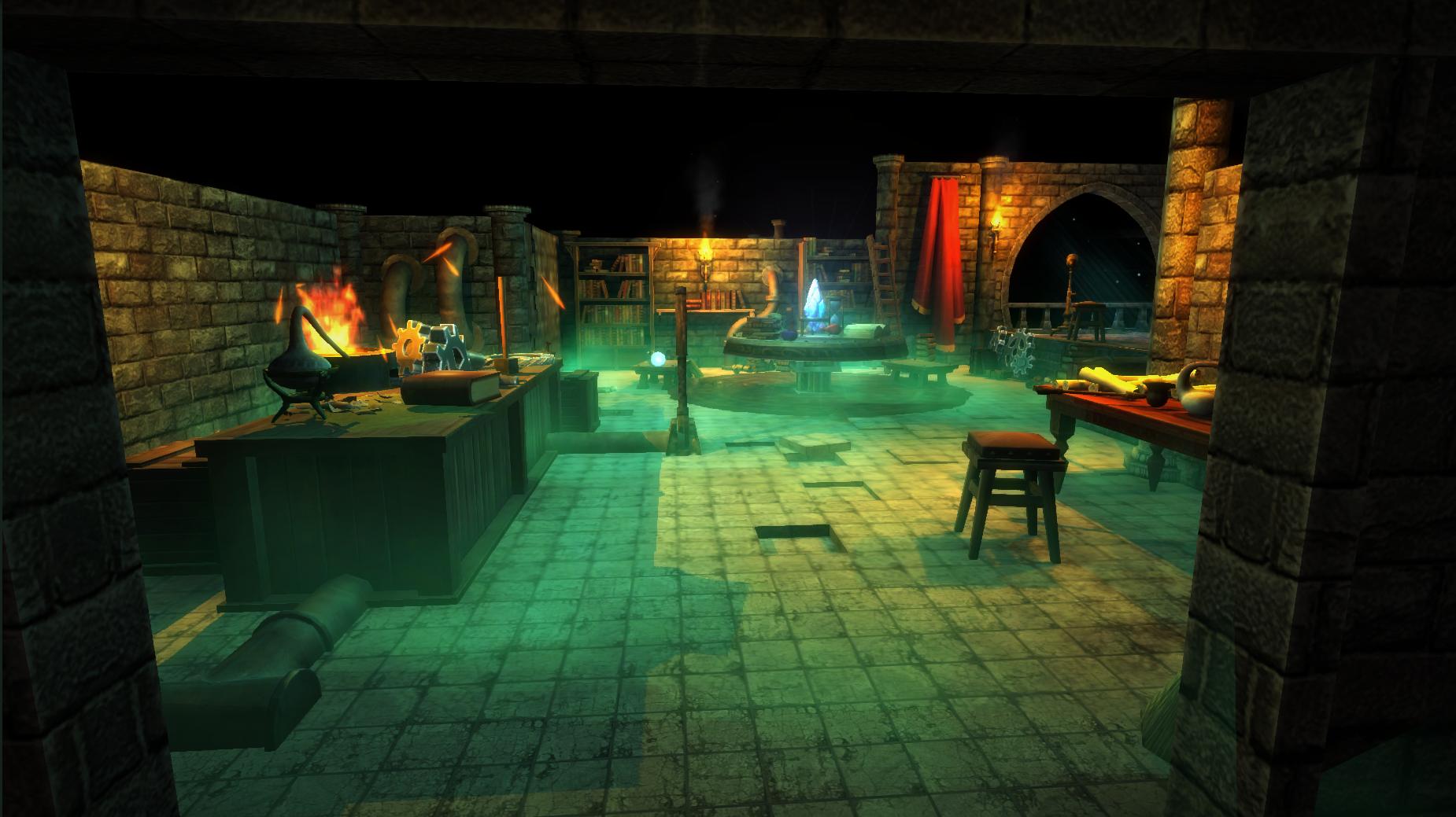 the lab game u5 entrance