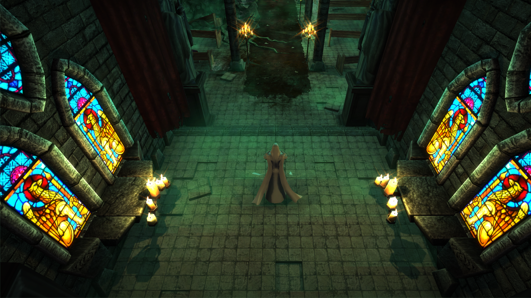 throne room game character came
