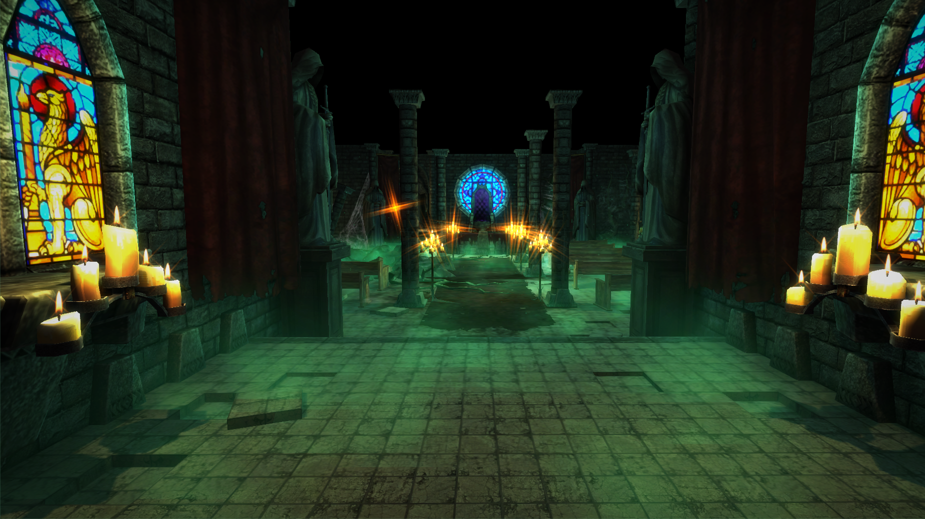 throne room game entrance