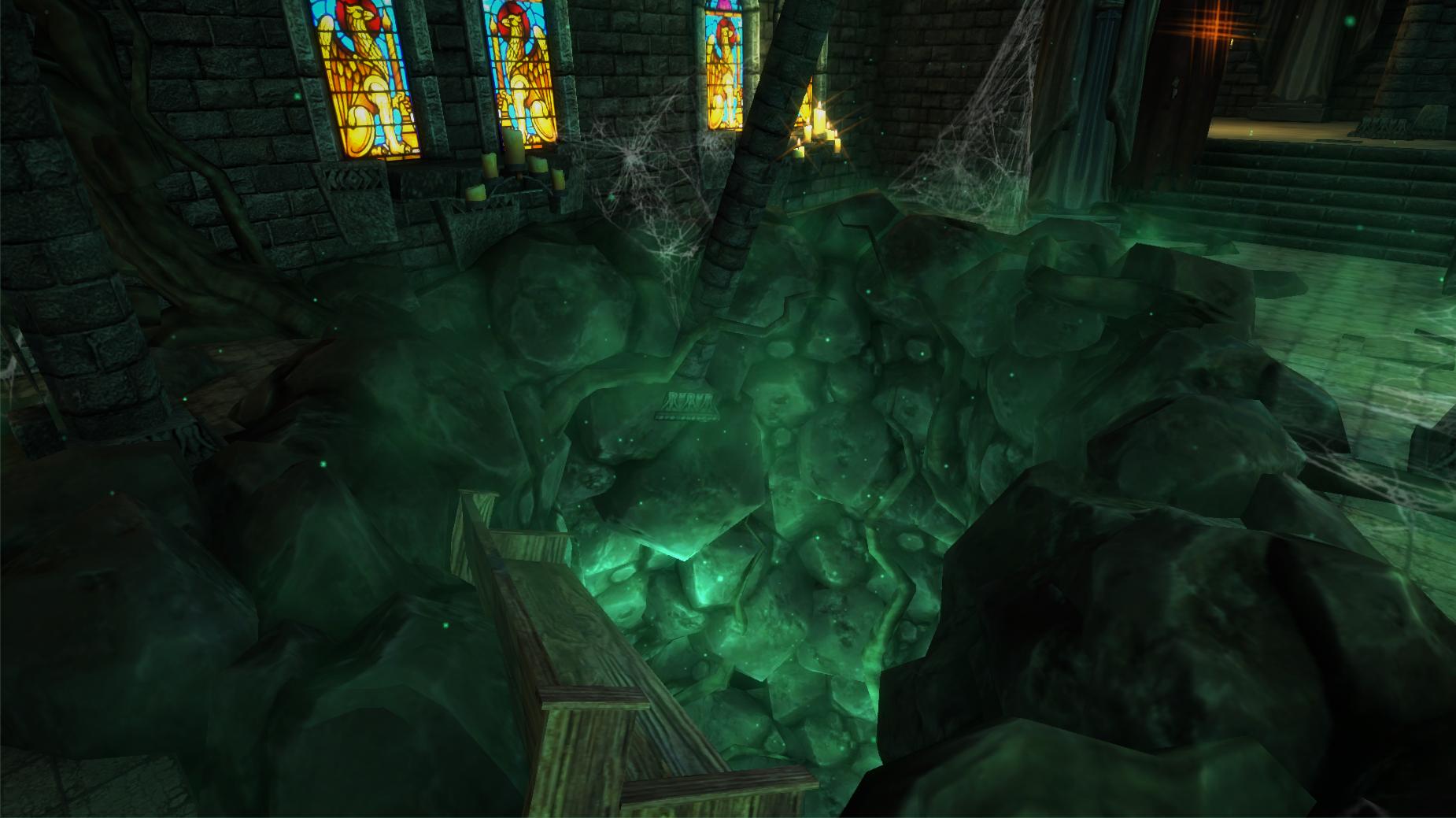 throne room game huge floor hol