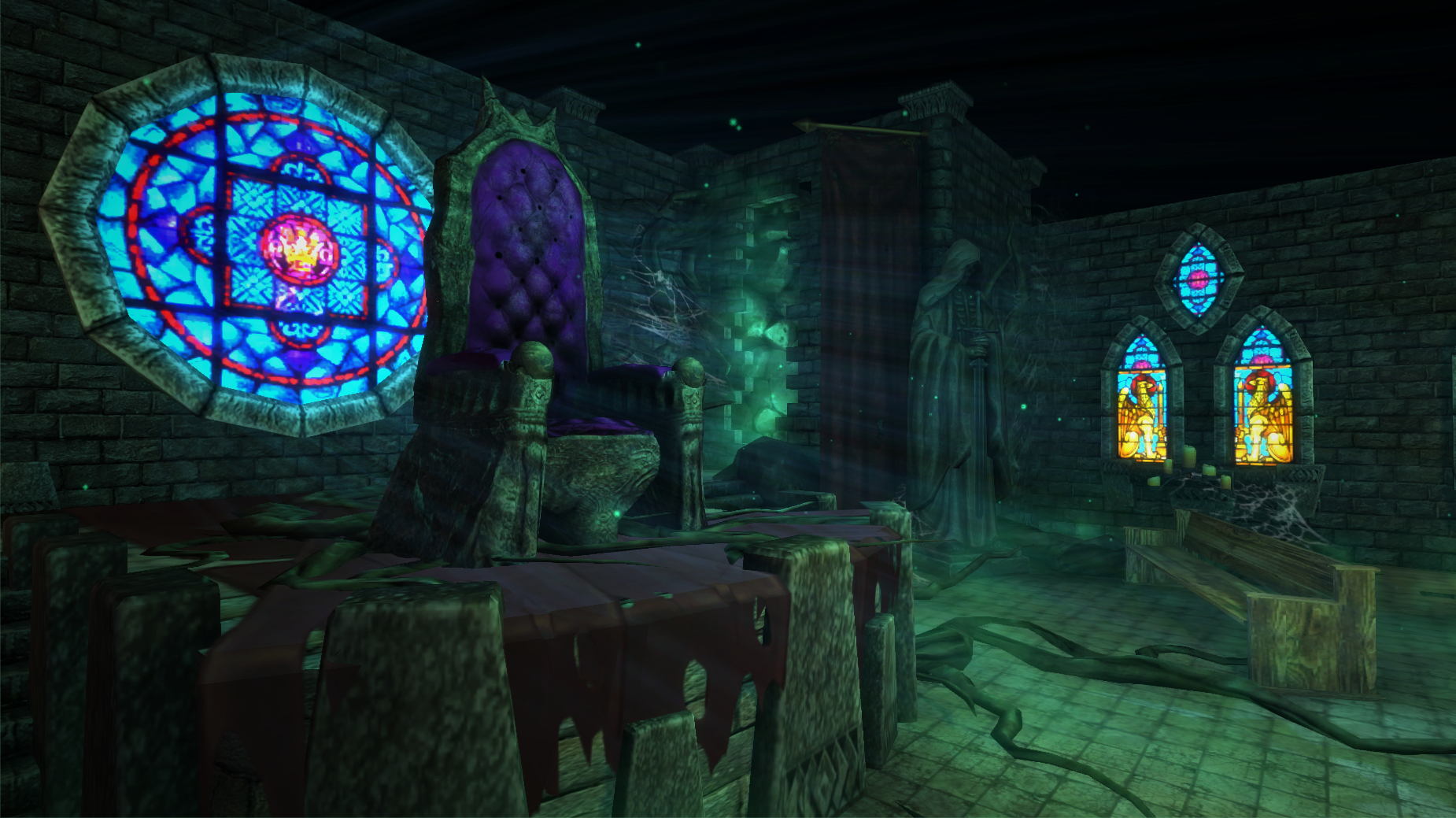 throne room game throne side