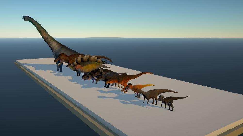 Dinosaur Models so far