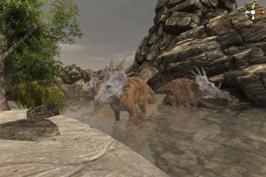 Styracosaurus New