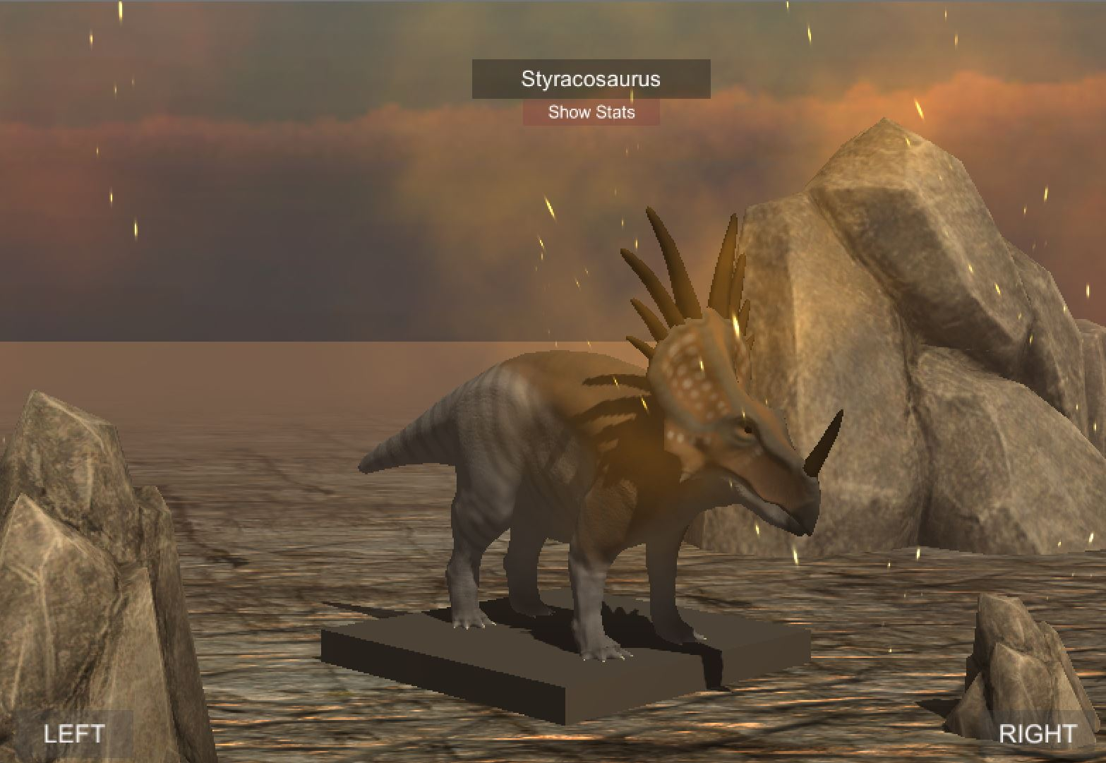 Styracosaurus Upload