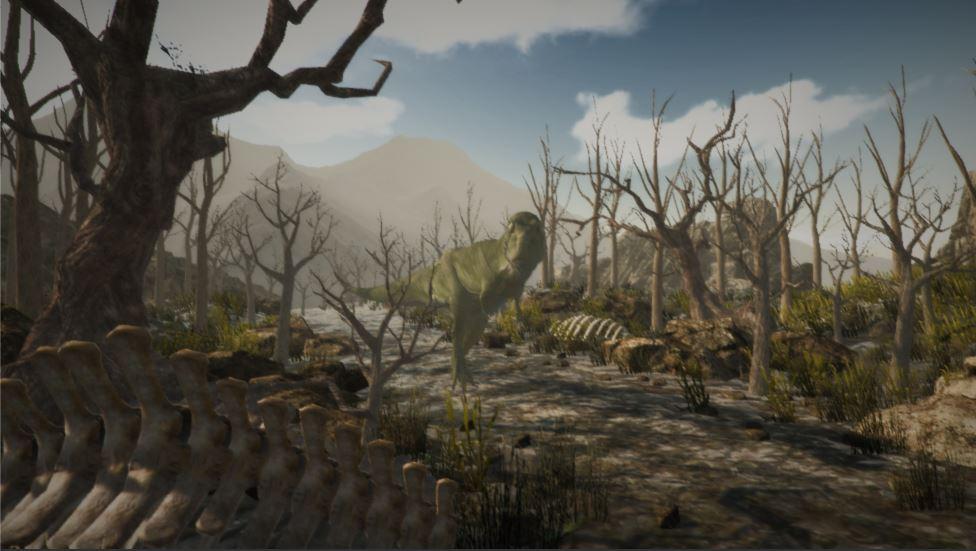 T Rex Strolling