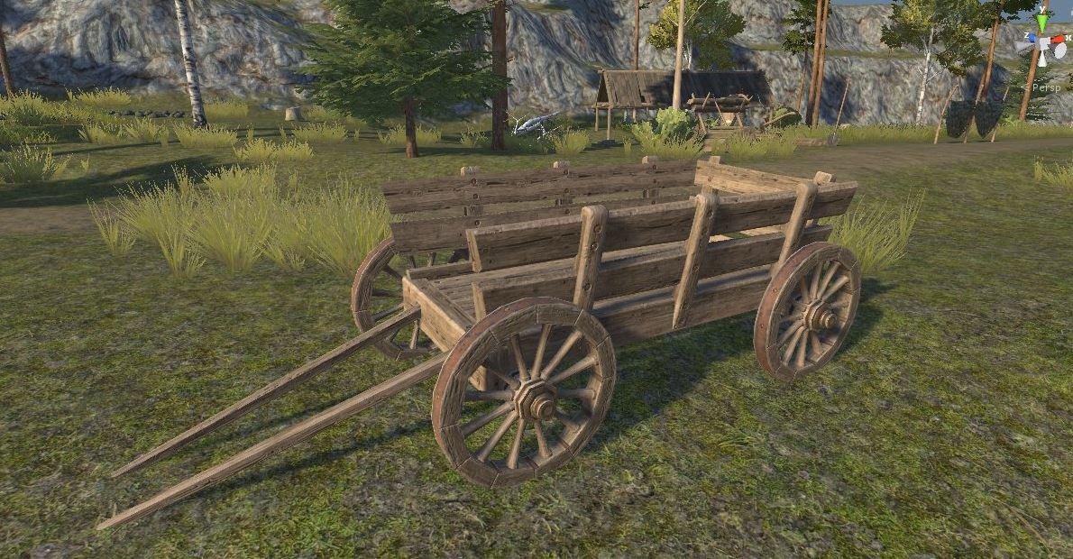 New Wooden cart