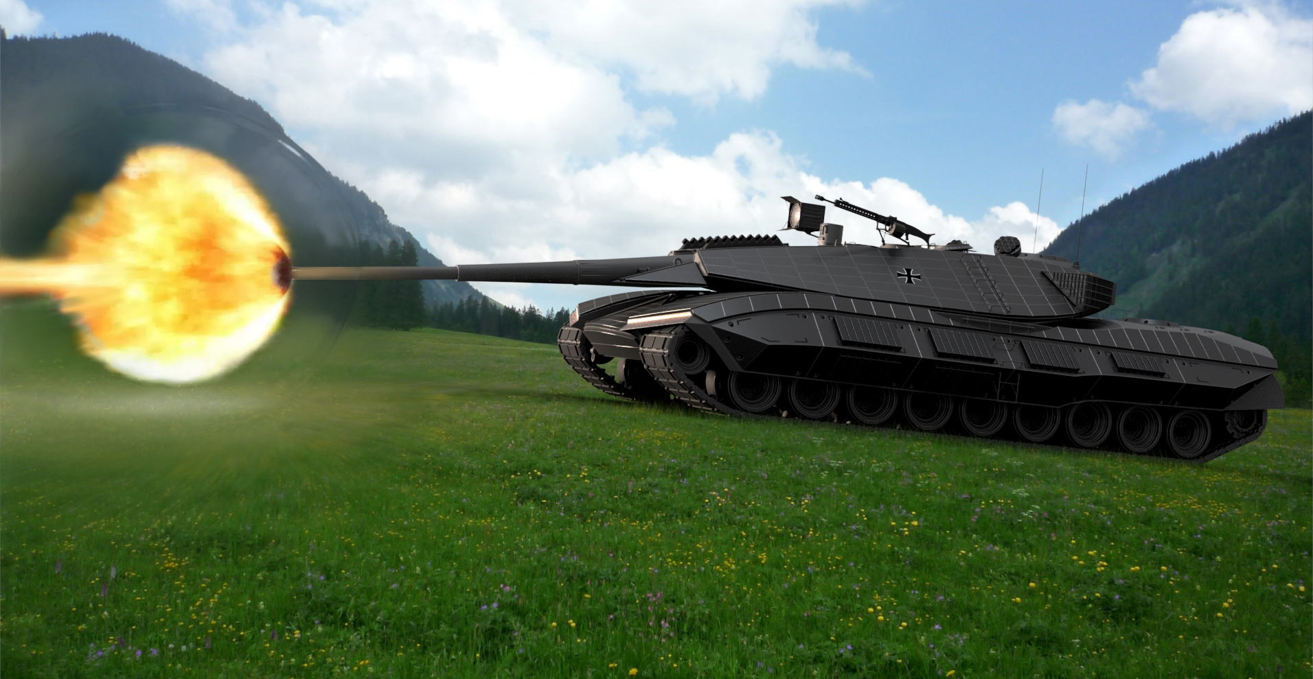 Leopard 3 Python Prototye image - Vasquez_Lichstein - Indie DB