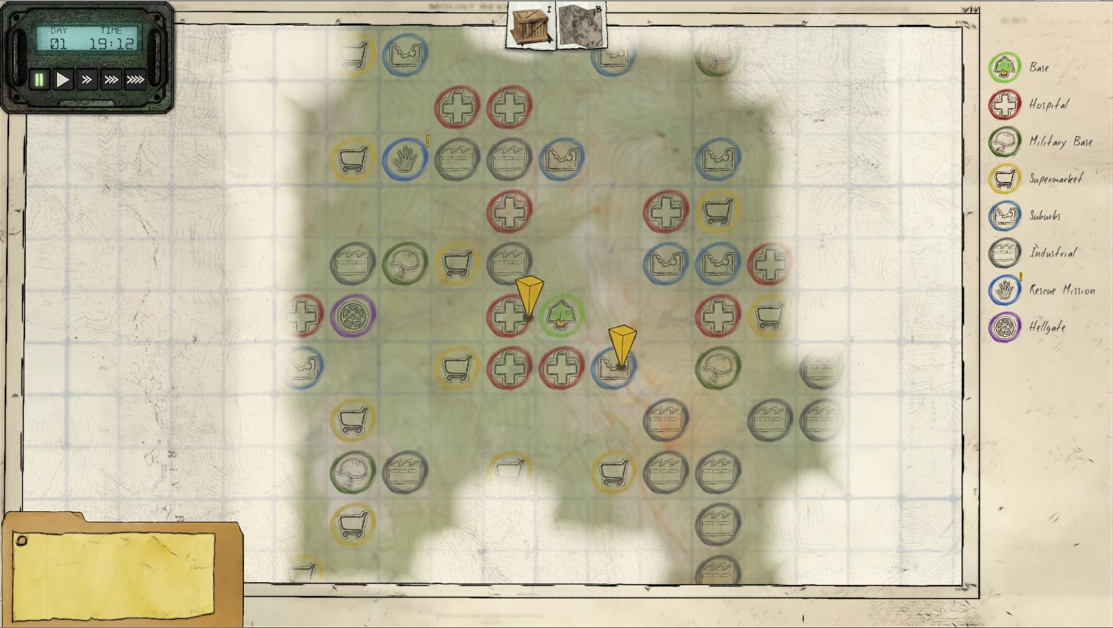 World map explored