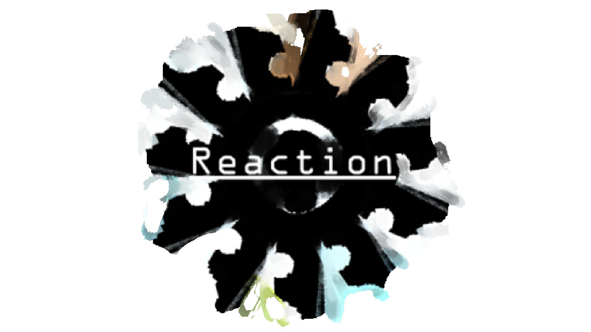 Reaction logo trans