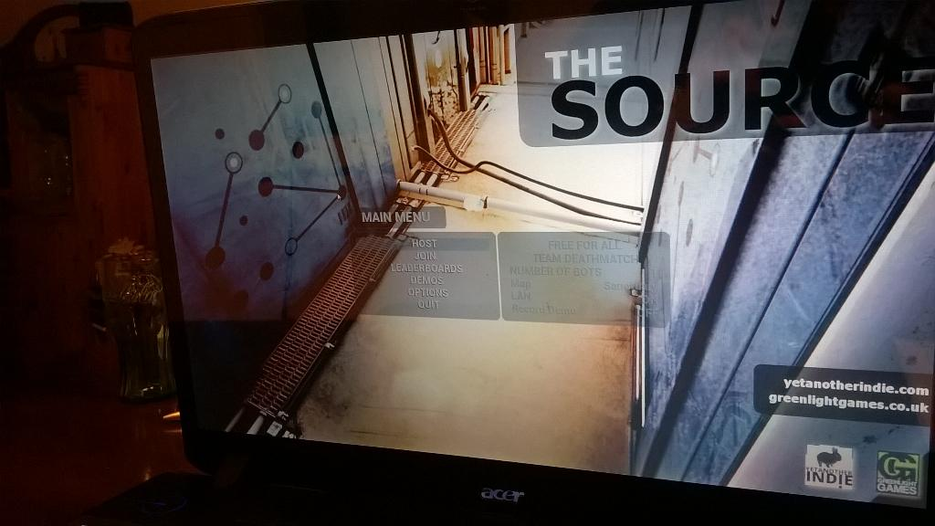 The Source alpha stage