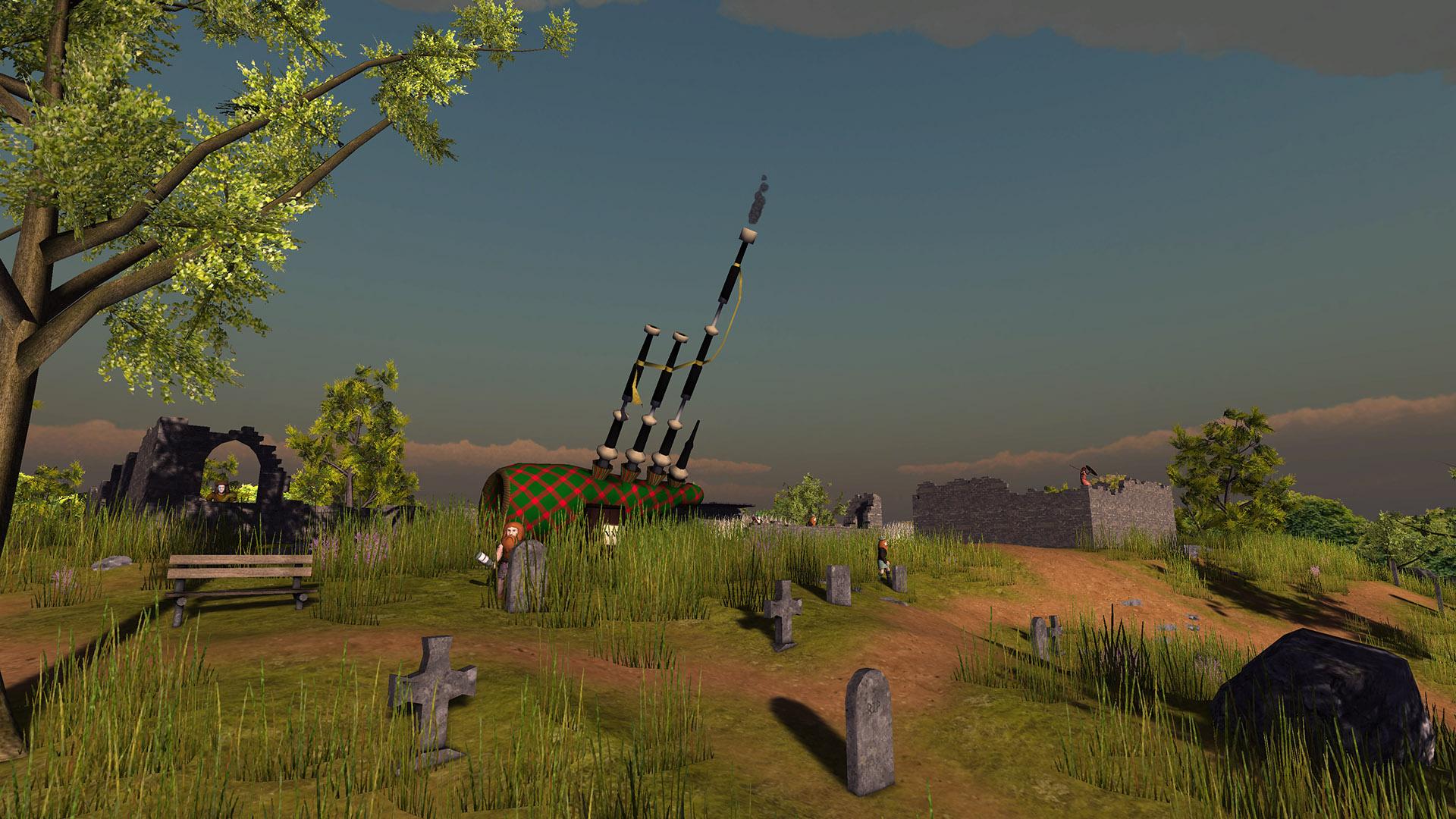 Bagpipe Artillery
