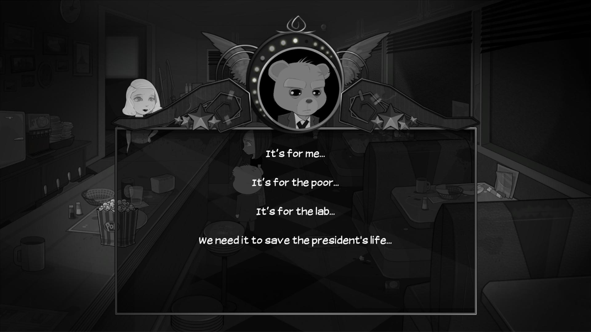 Bear With Me   Multiple Choice 1