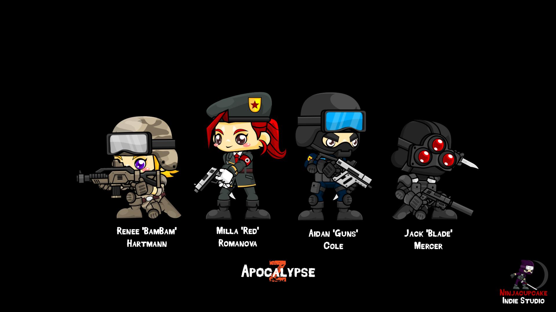 Apocalypse Z Character Wallpaper