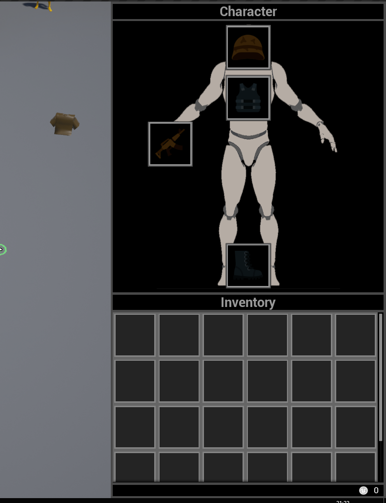 Inventory Character