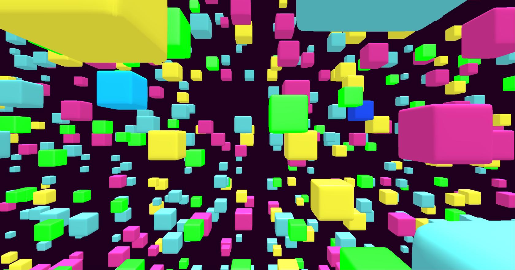 3D Net Cubes 3