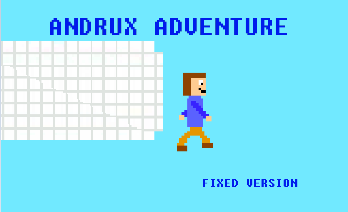 Andrux adventure fixed version
