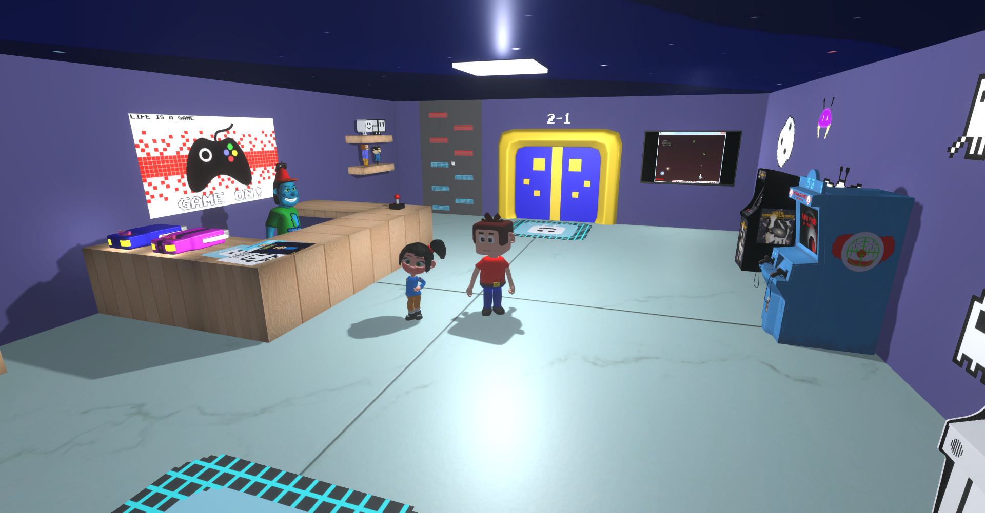 [Image: RM_Gamezone_cube_room.png]