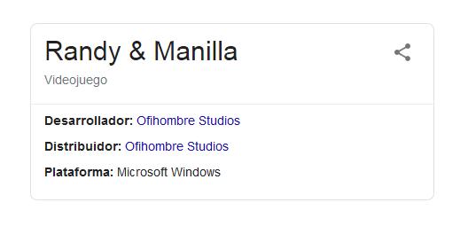 Randy Manilla in Google