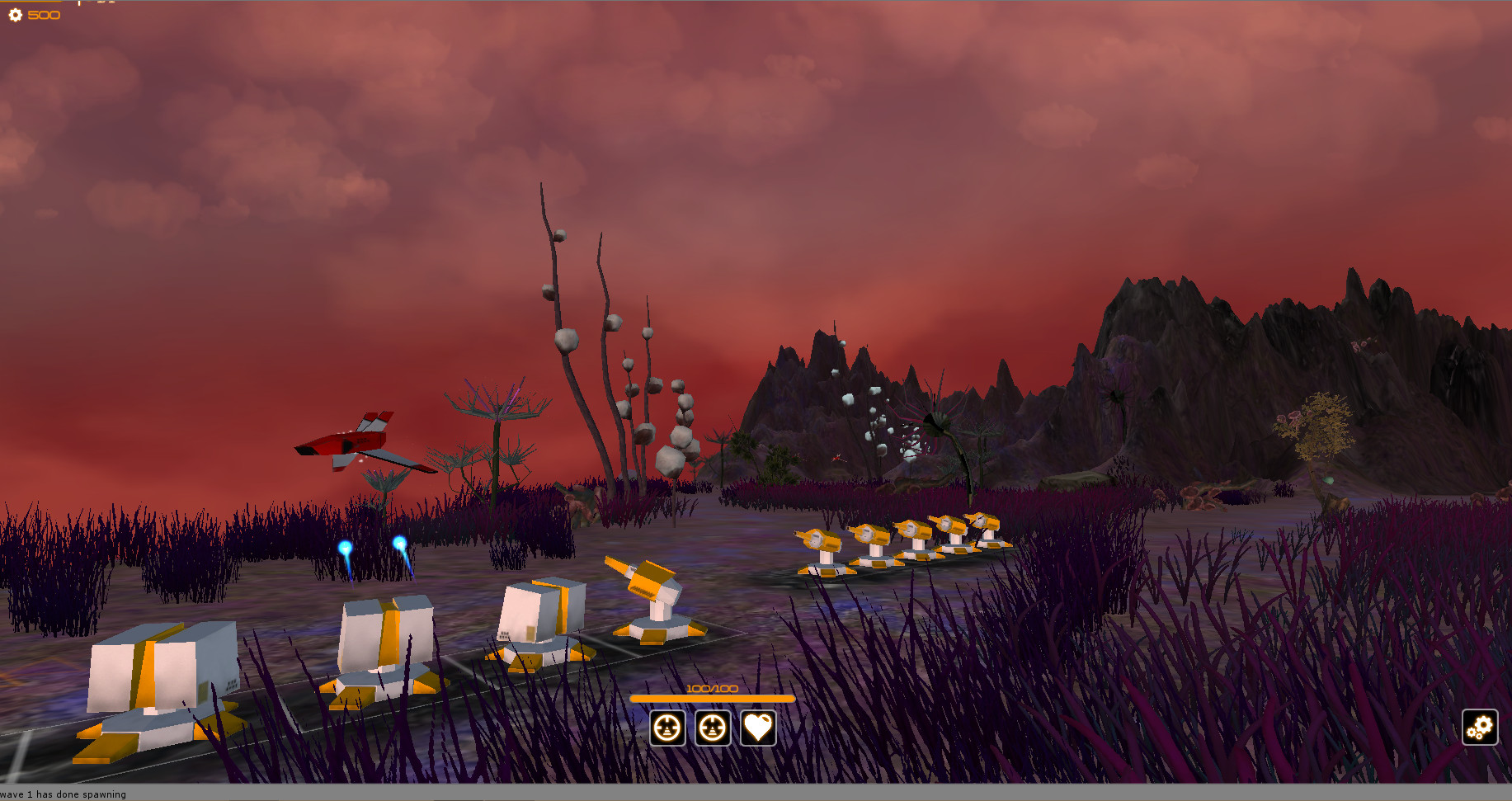 Gameplay Jet missiles