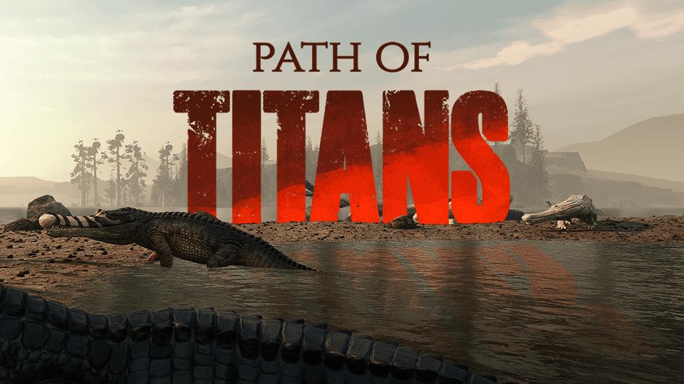 Talons Point Croc Basking Path Of Titans