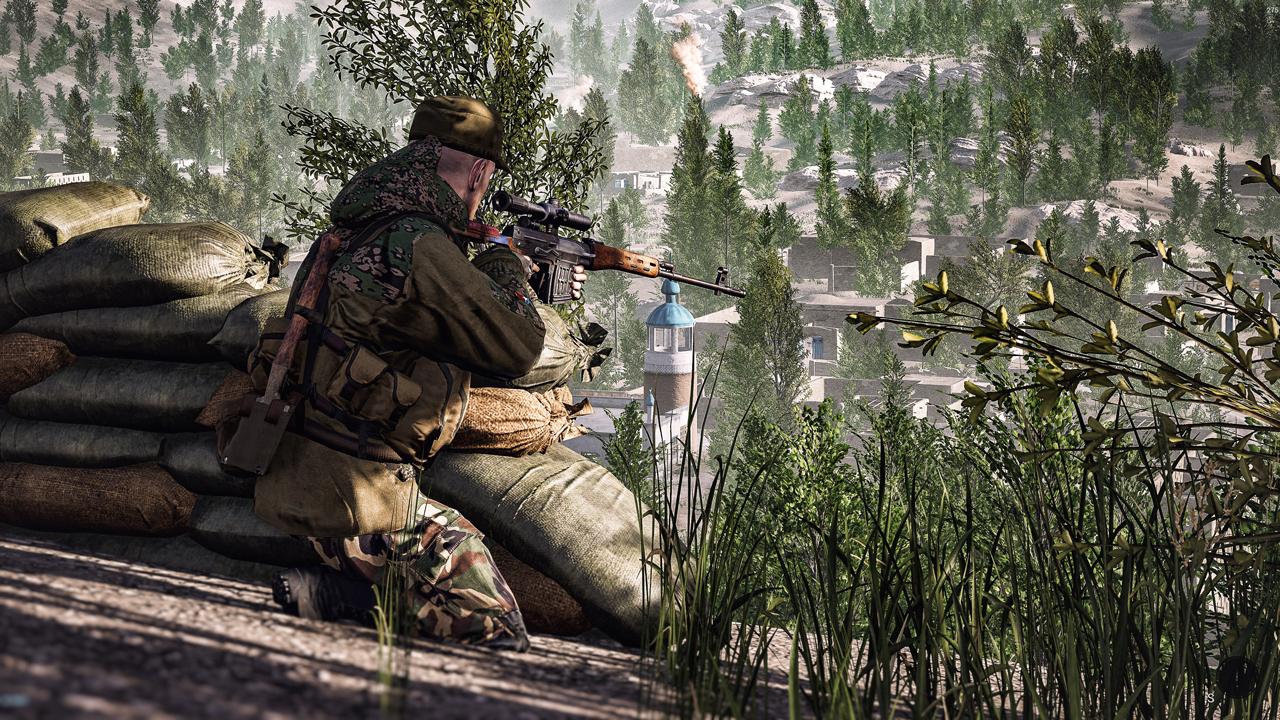 militia sniper nest Squad Alphav